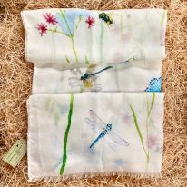 Dragonflies, Butterflies and Bees Scarf