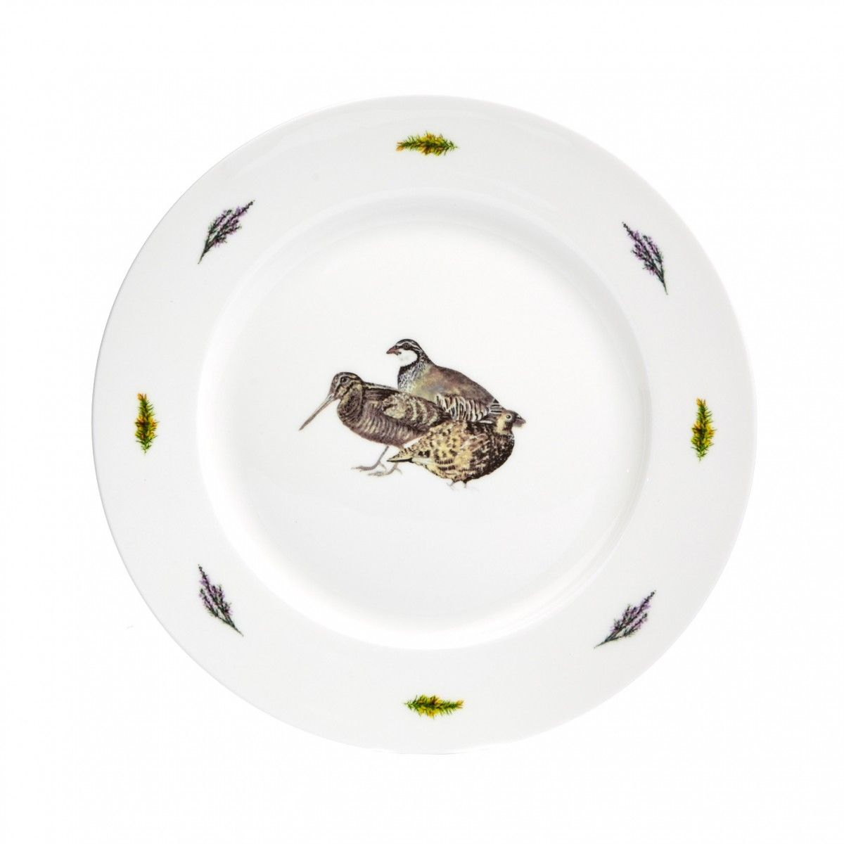 At Home in the Country - 10 Inch Game Birds Dinner Plate  sc 1 th 225 & Game Birds Fine Bone China 10 Inch Dinner Plate | At Home in the Country