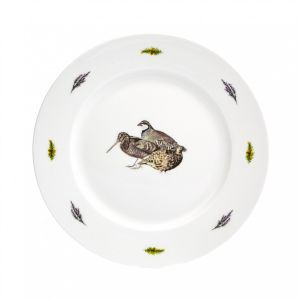 At Home in the Country - 10 Inch Game Birds Dinner Plate