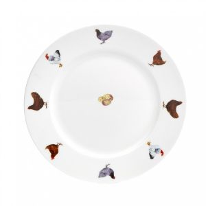 At Home in the Country - 10 Inch Hen Dinner Plate