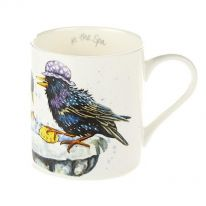 "A Carton of ""At the Spa"" Fine Bone China Mugs"