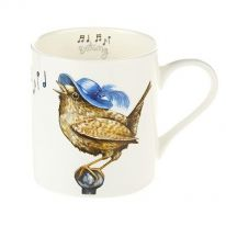 "A Carton of ""Birdsong"" Fine Bone China Mugs"