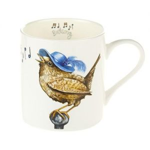 "At Home in the Country - A Carton of ""Birdsong"" Fine Bone China Mugs"