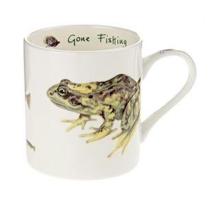 """At Home in the Country - A Carton of """"Gone Fishing"""" Mugs"""