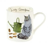 "A Carton of ""Lady Gardener"" Mugs"