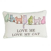 A Carton of Love me Love my Cat Cushions