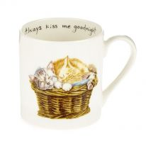 """Always Kiss Me Goodnight"" Mug & Gift Box"
