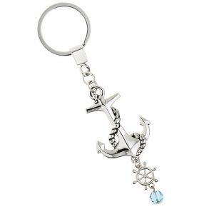 At Home in the Country - Anchor Keyring