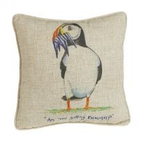 Are you Getting Enough? Linen Mix Cushion