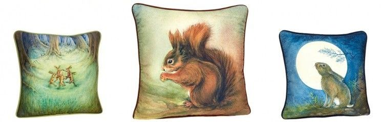 Spellbound and Animal Cushions and Bags