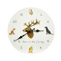 At Home in the Country Wall Clock