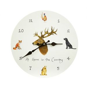 At Home in the Country - At Home in the Country Wall Clock