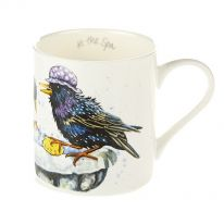 """At the Spa"" Fine Bone China Mug"
