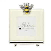 Bee Enamel Photo Frame