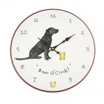 """Beer O'Clock"" Wall Clock"