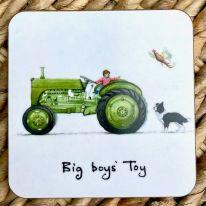 Big Boys' Toy Tractor Coaster