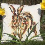 """At Home in the Country - """"Big Ears"""" 100 % Cotton Cushion"""