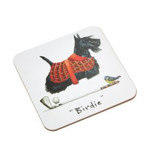 "At Home in the Country - ""Birdie"" Coaster"
