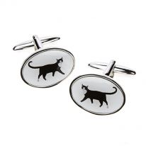 Black Cat Cufflinks