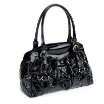 Black Heart Design Handbag