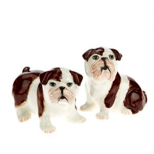 At Home in the Country - Bulldog Salt and Pepper Salt