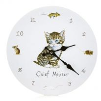 Chief Mouser Wall Clock