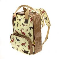Country Animals Large Backpack