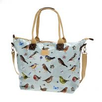Dawn Chorus Birds Carry All Bag with Strap