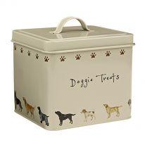 Doggie Treats Tin