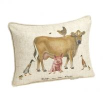 Down on the Farm Cushion