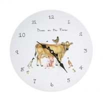Down on the Farm Wallclock