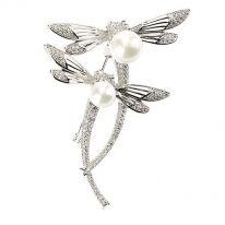 Dragonflies Brooch