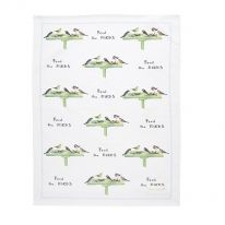 Feed the Birds Tea Towel