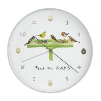 Feed the Birds Wall Clock