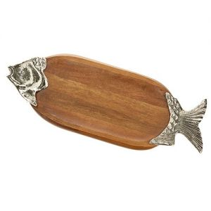 At Home in the Country - Fish Wooden Platter