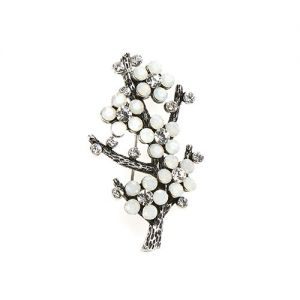 At Home in the Country - Flowers on Branch Brooch