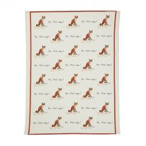For Fox Sake! Tea Towel