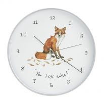 For Fox Sake! Wall Clock