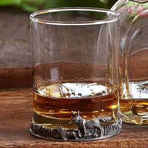 At Home in the Country - Fox Whisky Glass