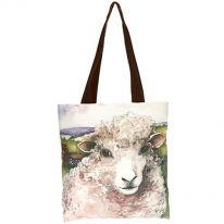 Friendly Sheep Bag with Brown Strap