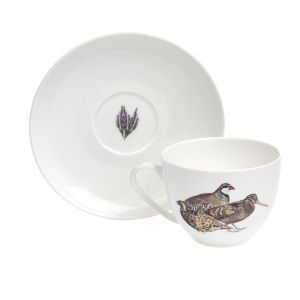 At Home in the Country - Game Birds Cup and Saucer