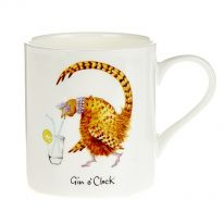 """Gin O'clock"" Fine Bone China Mug"