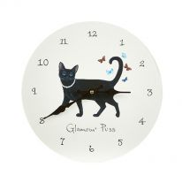 Glamour Puss Wall Clock