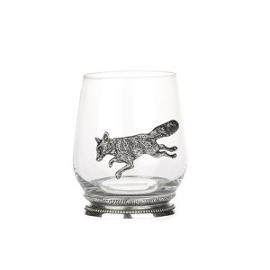 At Home in the Country - Glass with Fox