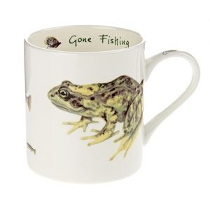 """At Home in the Country - """"Gone Fishing"""" Mug"""