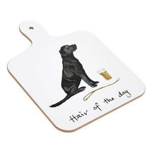At Home in the Country - Hair of the Dog Mini Chopping Board