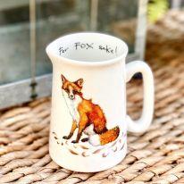 Half Pint Fox Jug