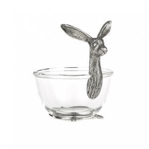 At Home in the Country - Hare Glass Bowl