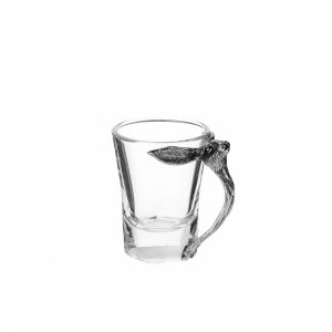 At Home in the Country - Hare Head Handle Shot Glass