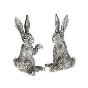 At Home in the Country - Hare Salt and Pepper Set